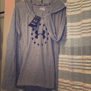 BNNWWT UNDER ARMOUR FREEDOM PULL OVER HOODIE